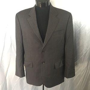 Lauren Ralph Lauren mens striped suit jacket